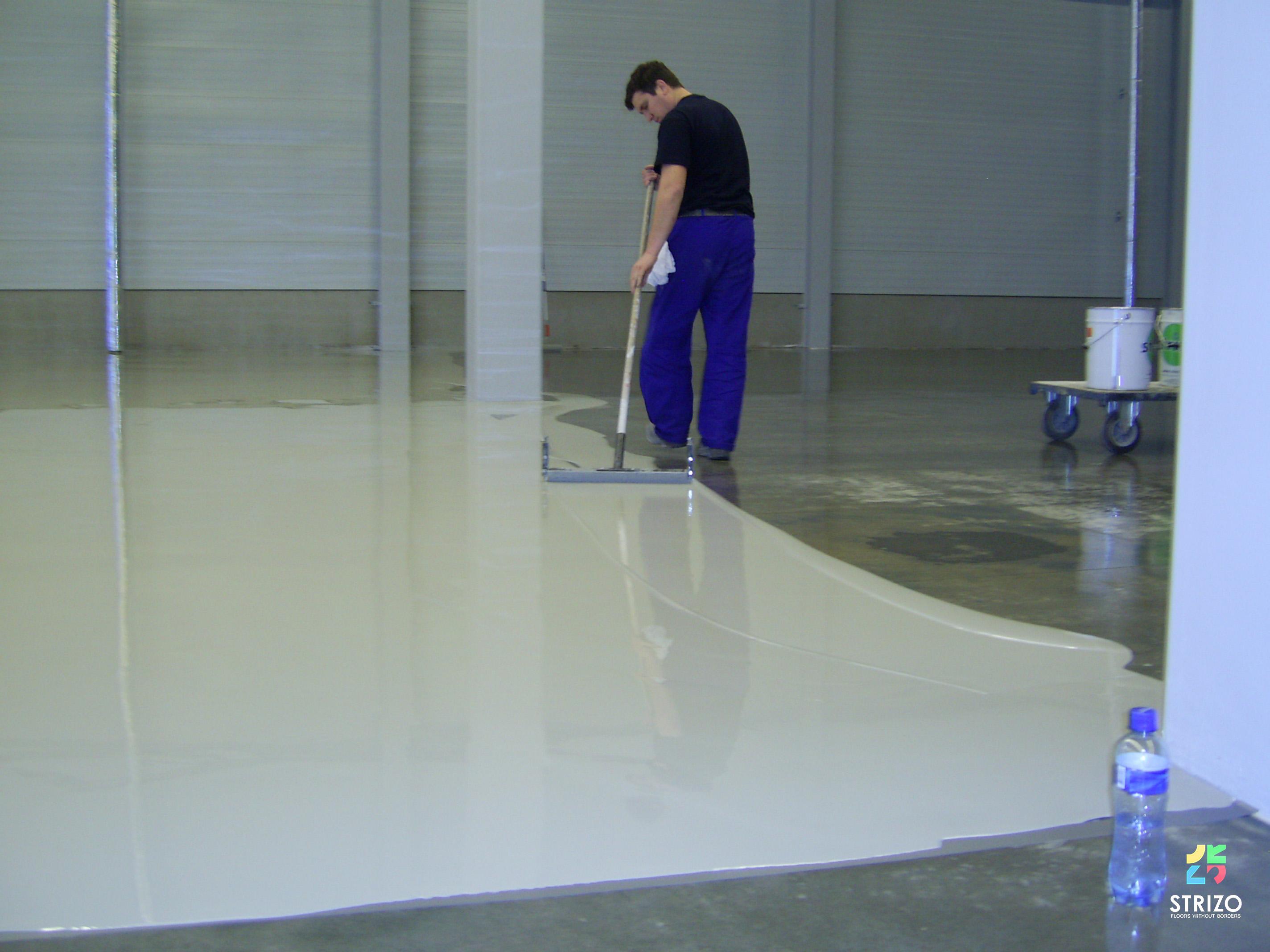 Liquid Hardener Floor : What is the epoxy process for liquid floors strizo